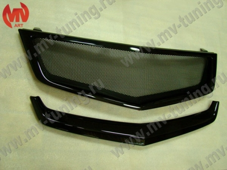 "АБС-пластик Планка в реш. радиатора ""SPORT"" H.Accord VIII 2008-2010 var №2 без лого.Honda"